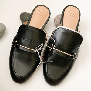 NWT a new day brand mules black